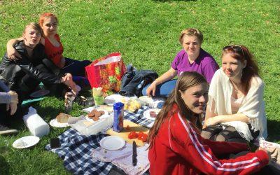 SEM srečanje z dijaki in zajtrk v naravi
