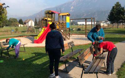 Ureditev javnega otroškega igrišča