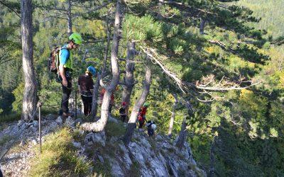 Vzpon na Ajdno z gorskimi reševalci