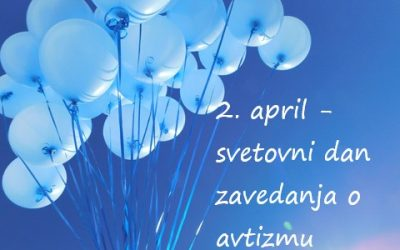 Virtualni pohod z modrimi baloni